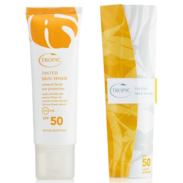 Tinted Skin Shade Facial Sun Protection L/M