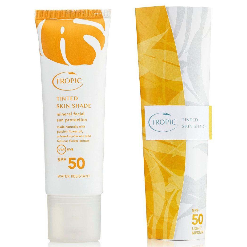 Tinted Skin Shade Facial Sun Protection M/D