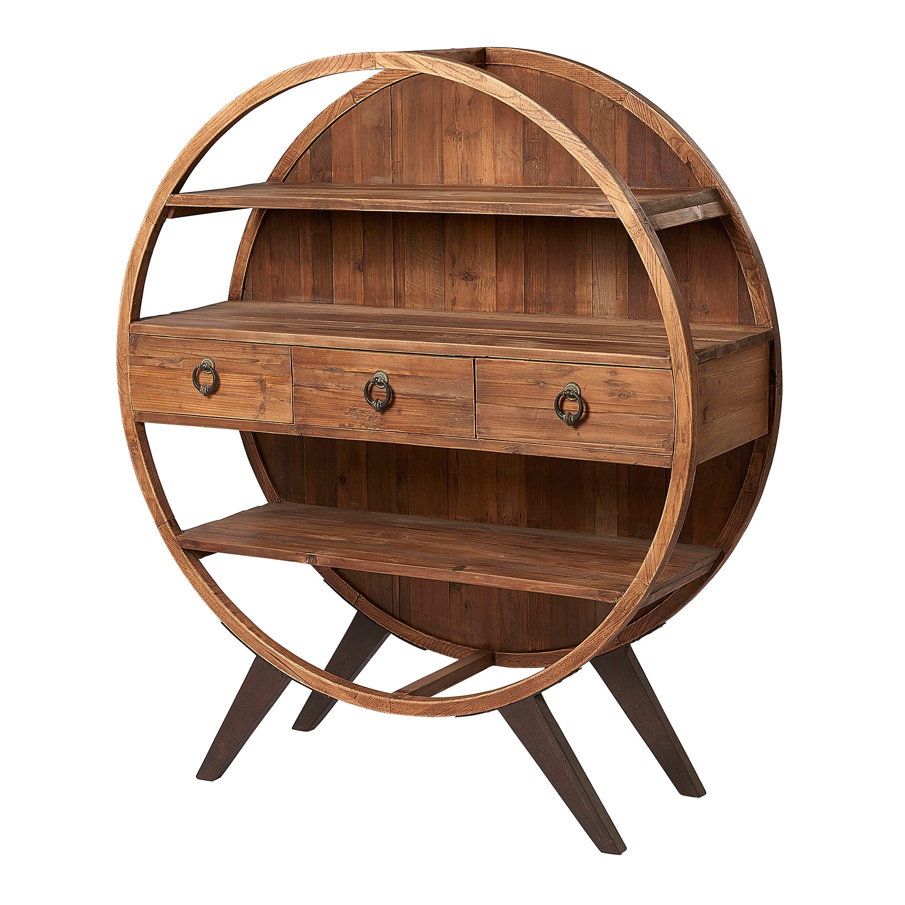 Liberty Bay Circular Display Cabinet