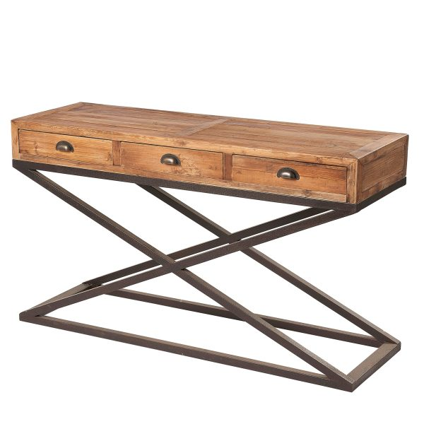 Liberty Bay 3 Drawer Console Table