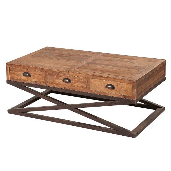 Liberty Bay 6 Drawer Coffee Table