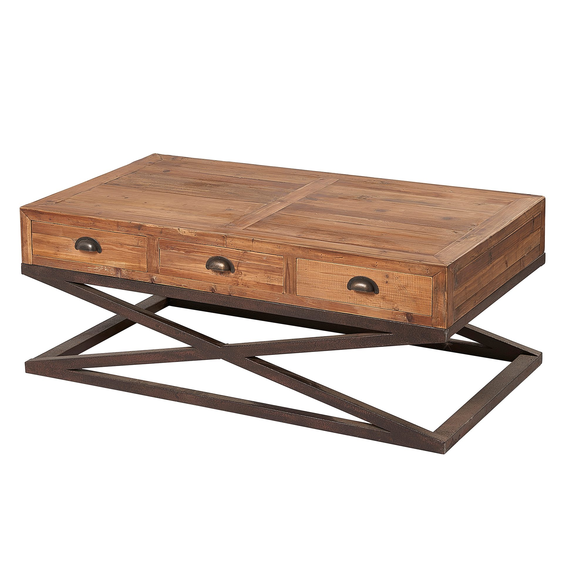 Indore Coffee Table With 6 Drawers: Liberty Bay 6 Drawer Coffee Table