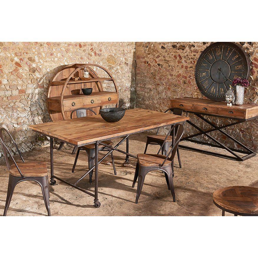 Liberty Bay Pine Round Coffee Table
