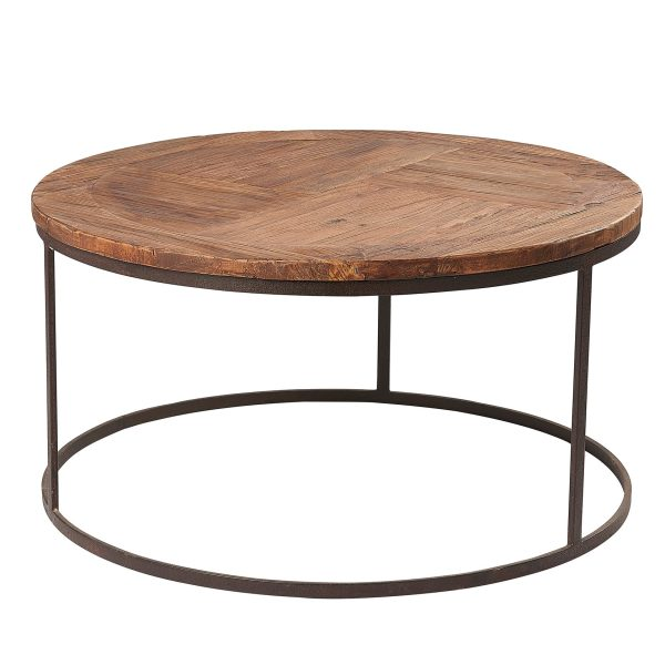 Liberty Bay Pine Round Coffee Table