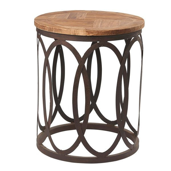 Liberty Bay Round Lamp Table
