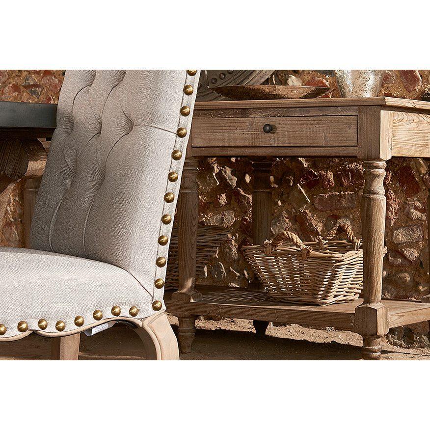 Milan Grey Dining Chair
