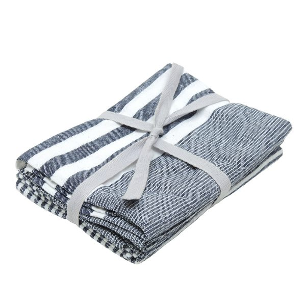 Blue Stripe Tea Towels