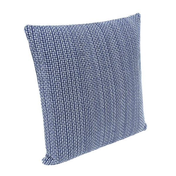 Blue Weave Cushion