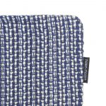 Blue Weave Cushion