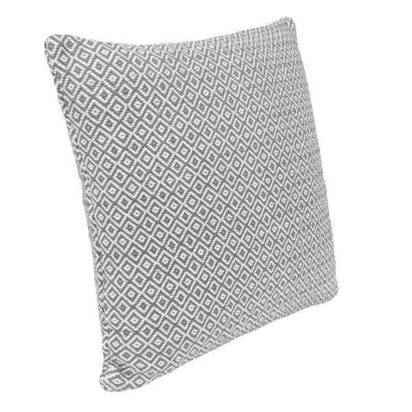 Grey Diamond Cushion
