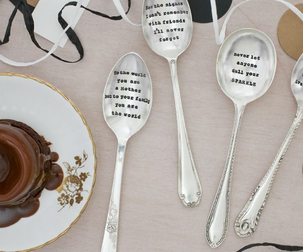Silver Hand-Stamped Cutlery