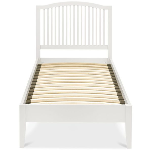 Ashby White Slatted Bedstead