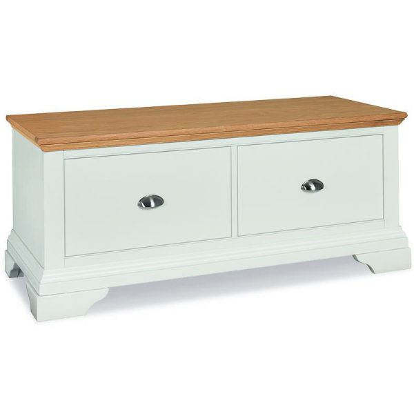 Hampstead Two Tone Blanket Box