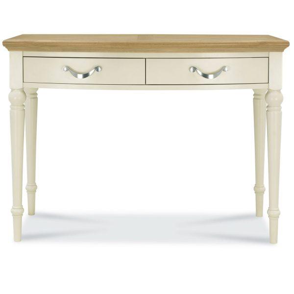 Montreux Oak & Antique White Dressing Table