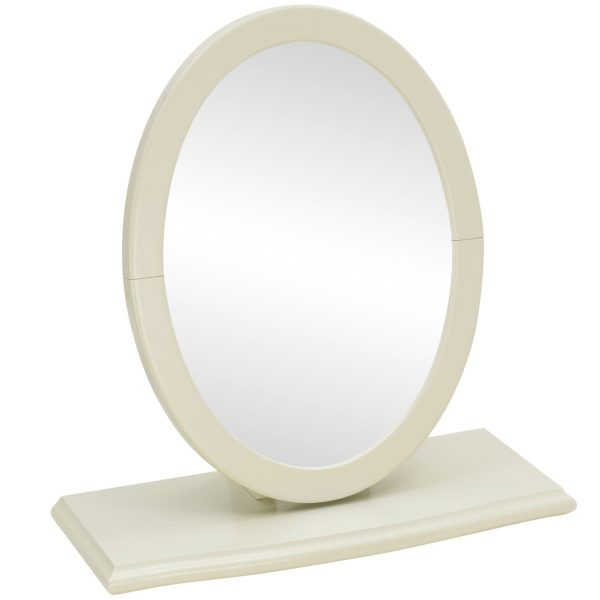 Montreux Oak & Antique White Vanity Mirror