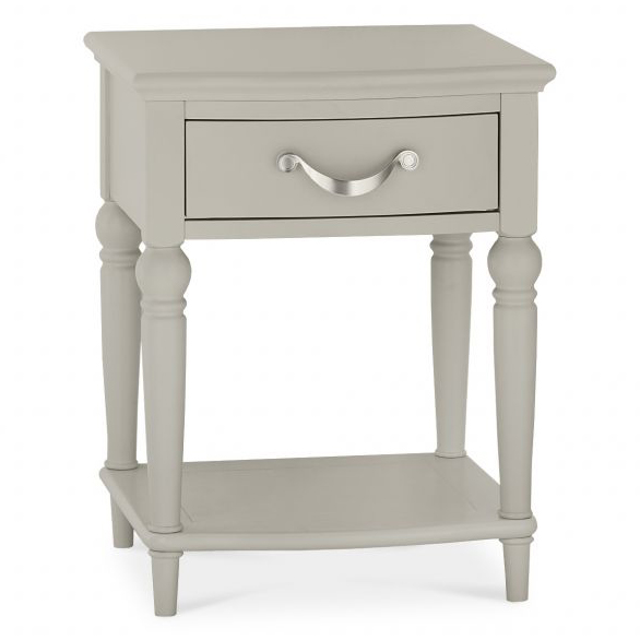 Montreux Urban Grey 1 Drawer Nightstand