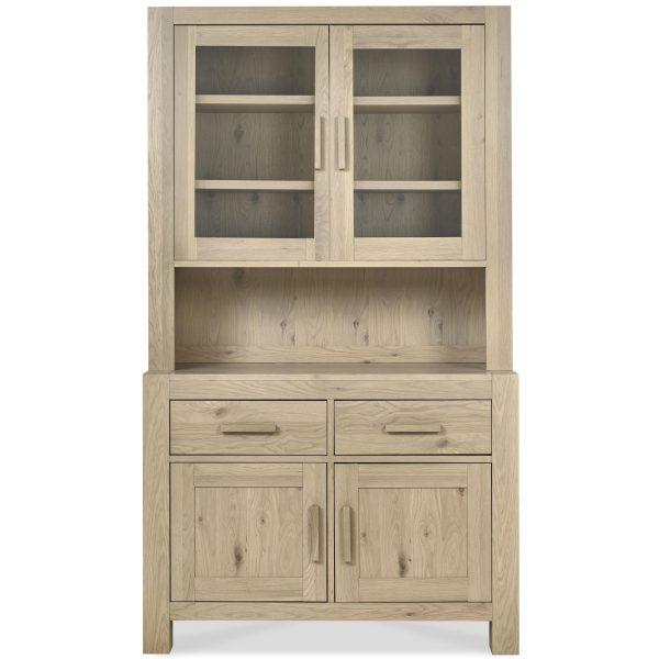 Turin Aged Oak Glazed Dresser