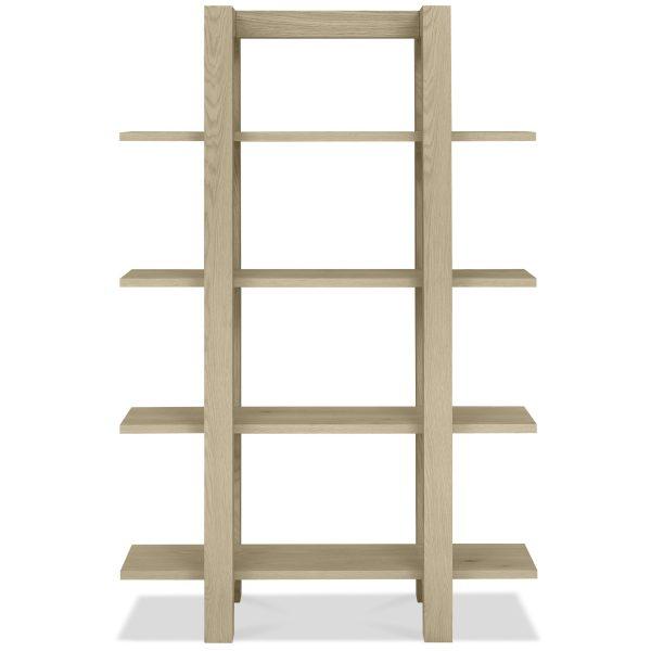 Turin Aged Oak Shelf Unit 2