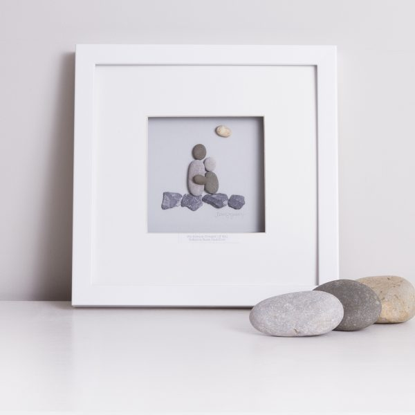 'A Mother Is The Truest Friend' Pebble Picture