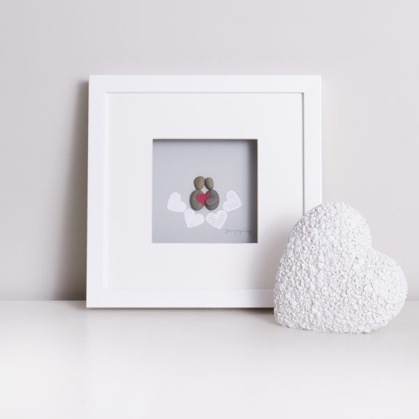 'Loved Up' Pebble Picture
