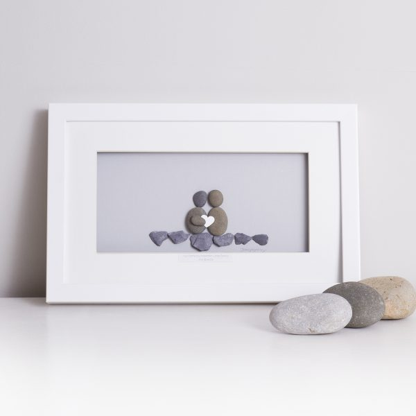 'Side By Side Is Where We Belong' Pebble Picture