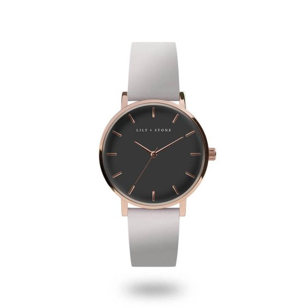 5th Avenue Collection // Rose Gold & Grey | Grey Strap