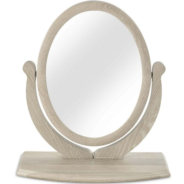 Bordeaux Chalk Oak Vanity Mirror
