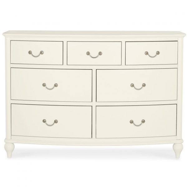 Bordeaux Ivory 3+4 Drawer Chest