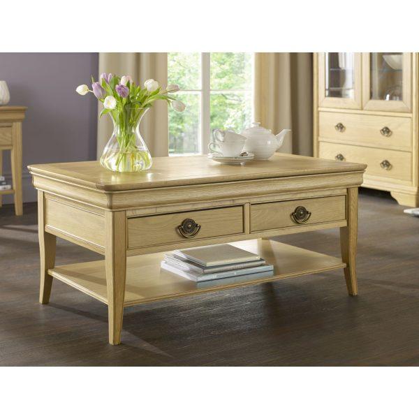 Chantilly Oak Coffee Table