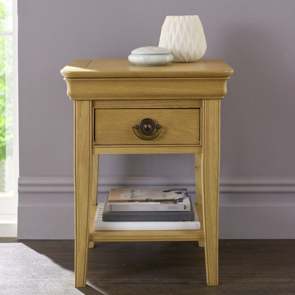 Chantilly Oak Lamp Table