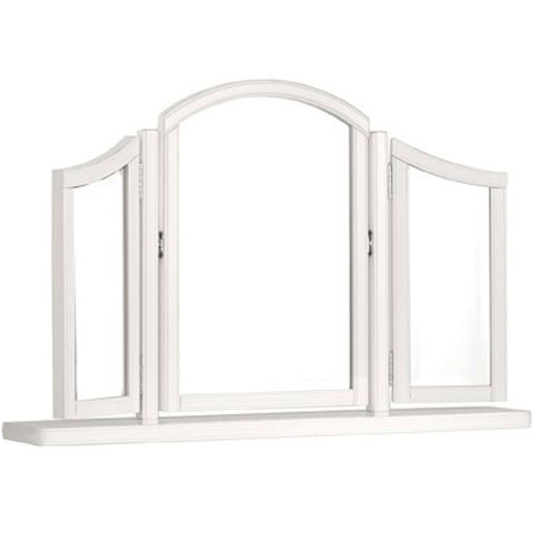 Chantilly White Gallery Mirror