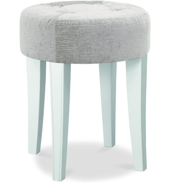 Chantilly White Stool