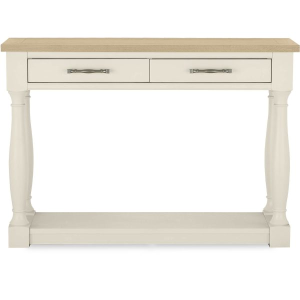 Chartreuse Console Table