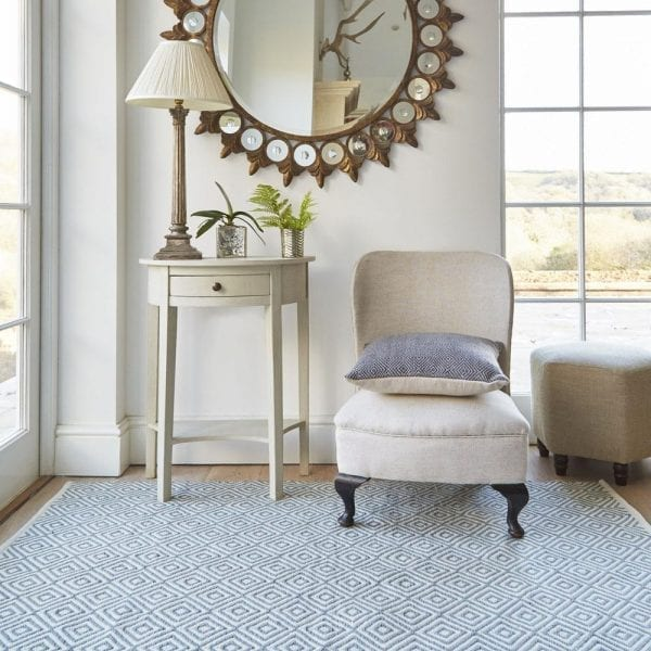Dove Grey Oslo Rug