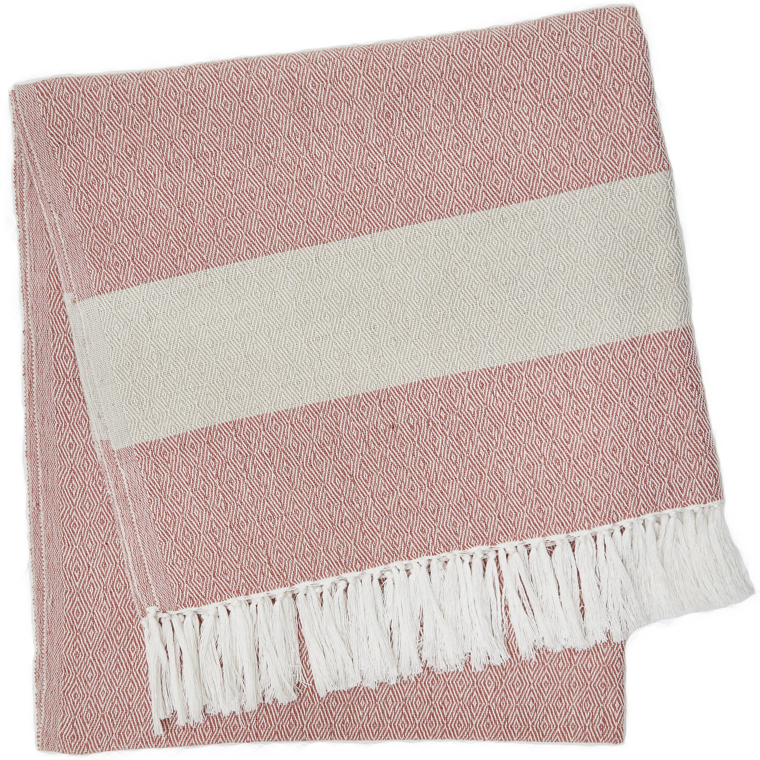 Hammam Throw Coral