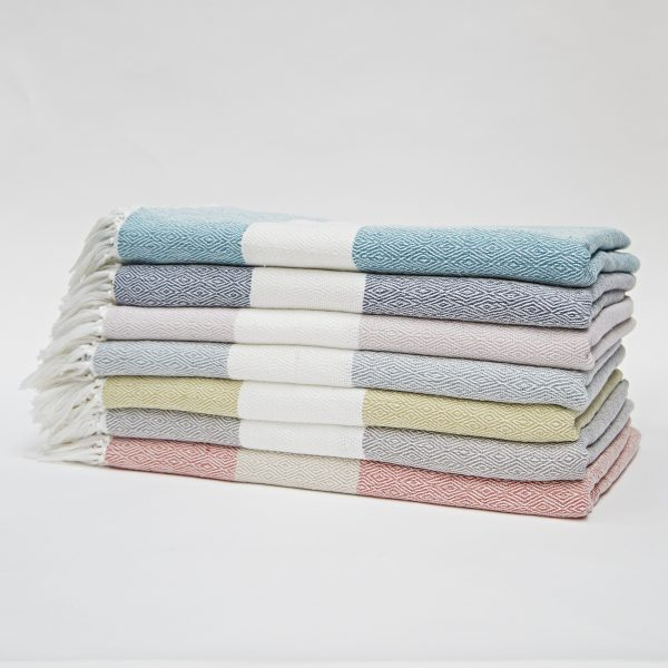 Hammam Throw Dove Grey