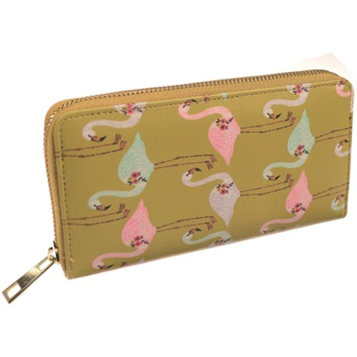 Large Lawn Flamingo Purse