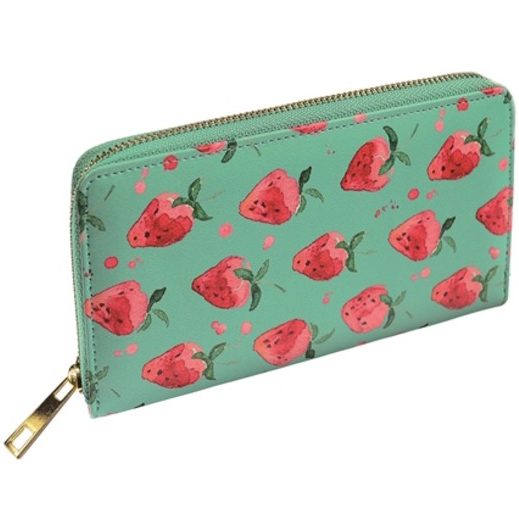 Large Strawberry Field Purse