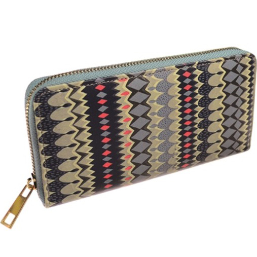 Large Stripe Purse