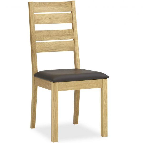 Provence Oak Slatted Chair PAIR