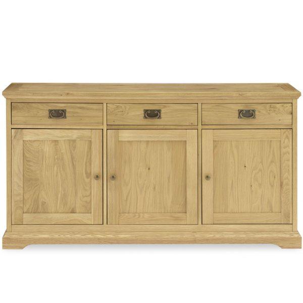 Provence Oak Wide Sideboard