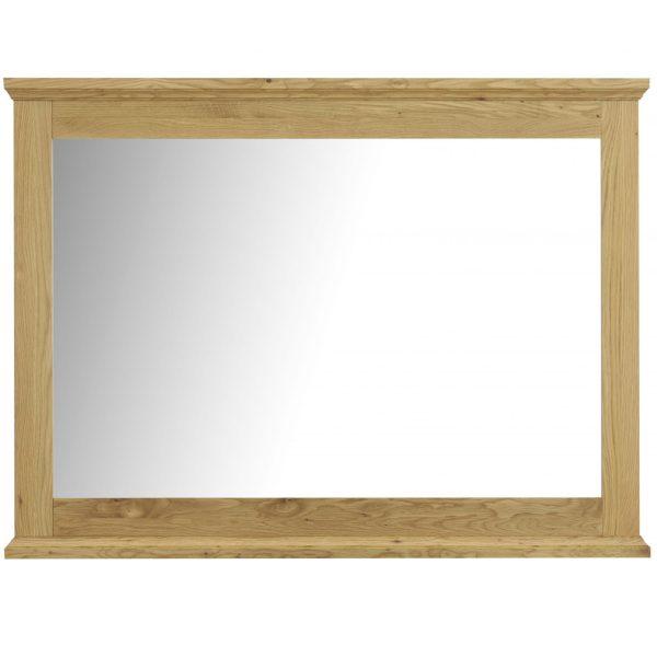 Provence Oak Wide Wall Mirror