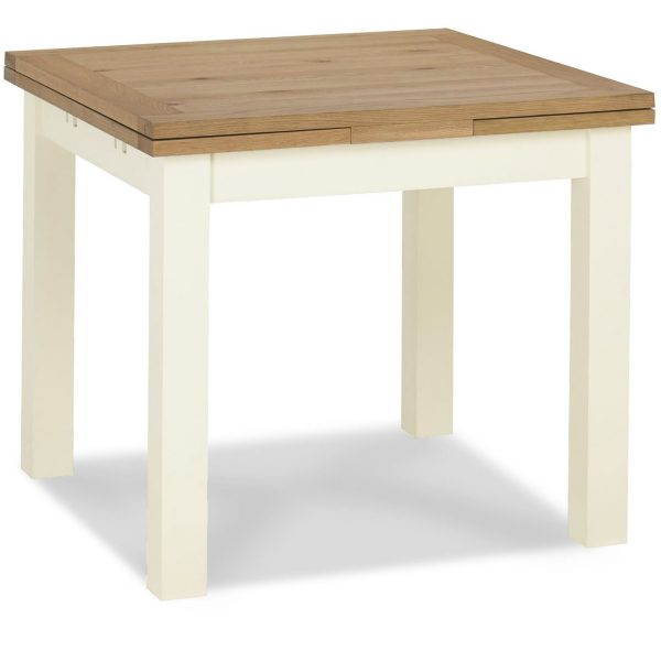 Provence Two Tone 2-4 Draw Leaf Extension Table