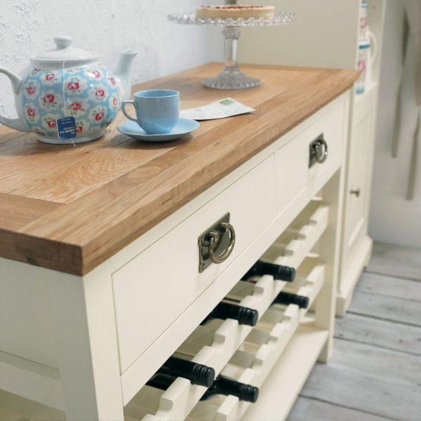 Provence Two Tone Console Table