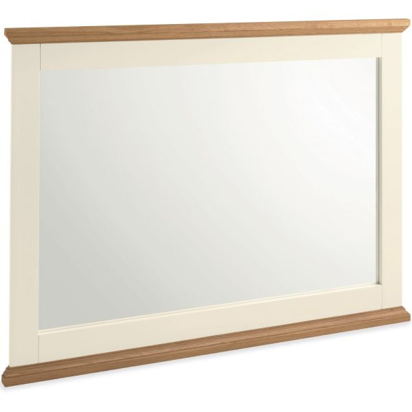 Provence Two Tone Wide Wall Mirror