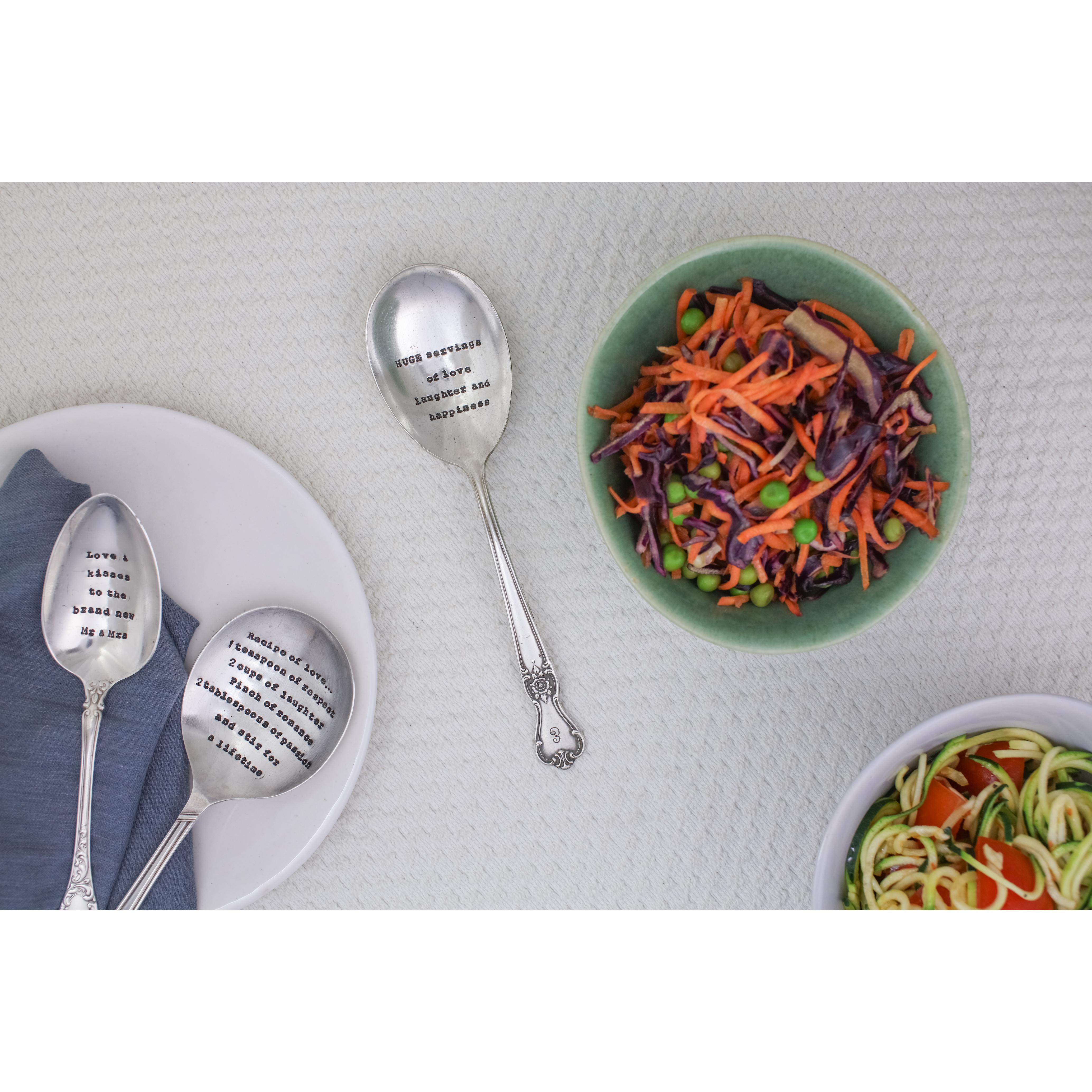 Serving Spoon – 'Huge Servings Of Love'