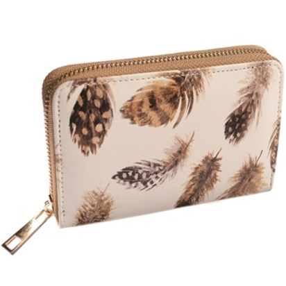 Small Feather Purse