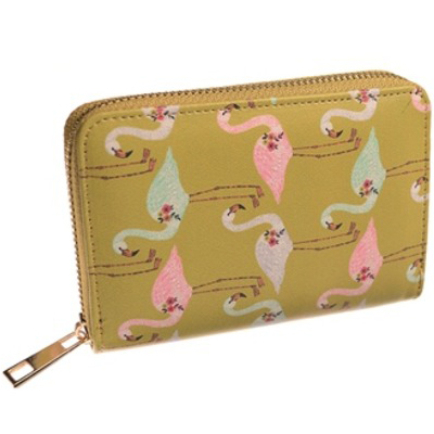 Small Lawn Flamingo Purse