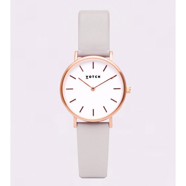 The Petite Light Grey & Rose Gold
