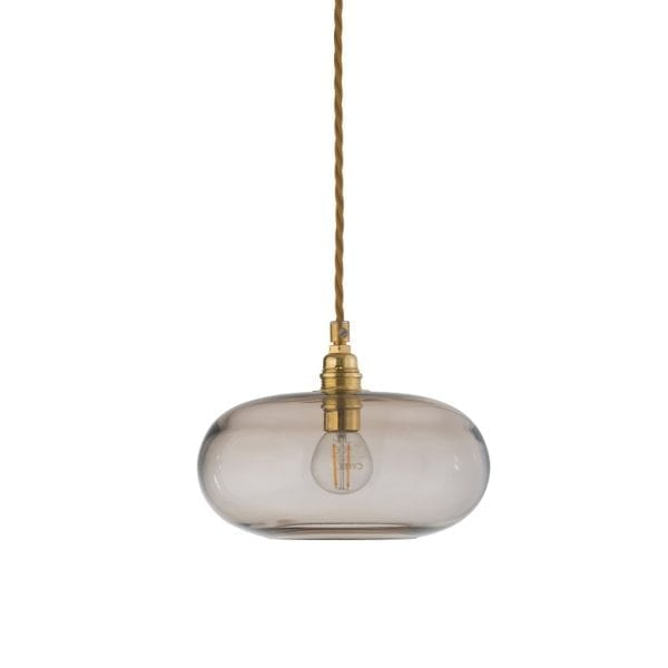 Horizon Pendant Lamp, Chestnut Brown, 21cm